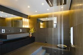contemporary bathroom halogen lighting simple and appealing