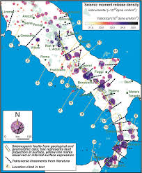 Italy Earthquake Map by The Investigation Of Potential Earthquake Sources In Peninsular