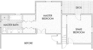 Master Bedroom Suite Floor Plans Bedroom Renovation 80s Style Suite Becomes Modern Bedroom Suite