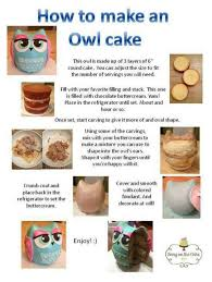 how to make a cake step by step lime white chocolate cheesecake bites owl cakes owl and cake