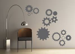 wall vinyl decals gallery art wall decal stickers 397 atom