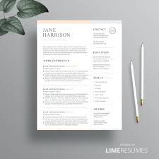 resume templates pages resume template for pages trendy design resume template for pages