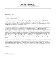 engineering internship cover letter internship cover letter