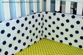 loving life diy no sew crib bumper