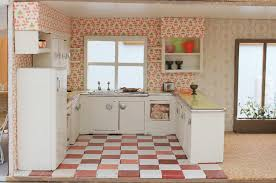 Dollhouse Kitchen Sink by A Vintage Custom Kitchen For The Betsy Mccall Dollhouse Retro