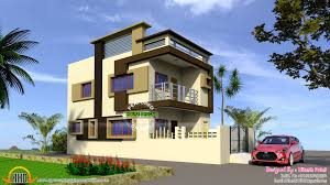 Home Design Normal India Indian Model Flat Roof House Kerala Home Design And Floor Plans