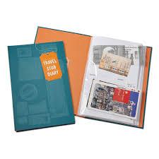 ticket stub album travel stub diary traveler memory book journal uncommongoods