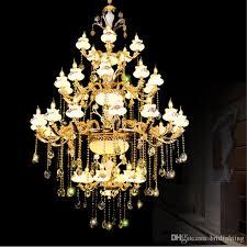 led lighting for banquet halls luxury crystal chandelier promotion high quality k9 crystal