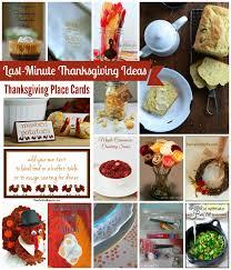 last minute thanksgiving ideas tauni co