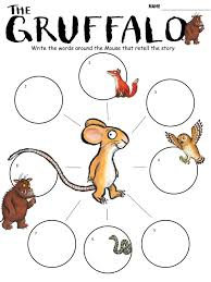 the gruffalo lesson pack u2013 powerpoint and 10 worksheets u2013 mash ie