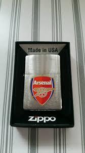 arsenal zippo lighter arsenal zippo lighter and cuff links in torquay devon gumtree