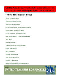 utla know your rights complete mediation rehabilitation act