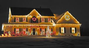Home Decorated For Christmas by Christmas Beautiful Houses Decorated For Christmas