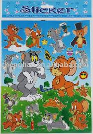 tom jerry cartoon kids sticker buy cartoon sticker kids