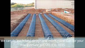 septic systems install denver leach field sump pump repair youtube