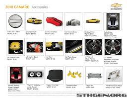 accessories for 2010 camaro camaro accessory cards moderncamaro com 5th generation