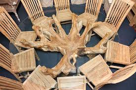 SustainableFurniture UK Creates Unique Tables From The Roots Of - Tree furniture
