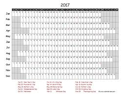Excel Timeline Template Free 2017 Excel Calendar Project Timeline Free Printable Templates