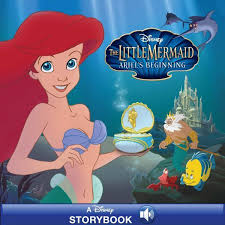 mermaid ariel u0027s beginning disney books disney