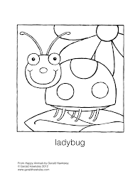 beautiful printable ladybug coloring pages with ladybug coloring