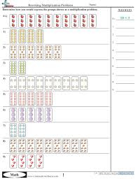 Commoncore Math Worksheets Multiplication Worksheets
