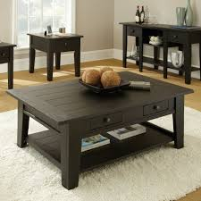 Coffee Table Set Black Coffee And End Table Sets Shoppaper Net In Tables Designs 5