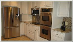 double wall oven cabinet plans cabinet home design ideas