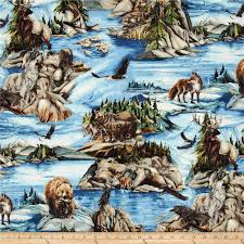 north american wildlife 3 animal collage nature discount