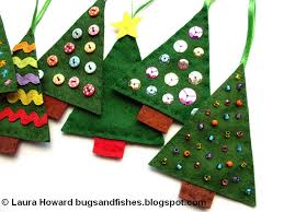 bugs and fishes by lupin how to sew easy felt tree
