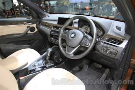 2016 bmw x1 pictures photo 2016 bmw x1 interior at the 2015 tokyo motor show indian autos blog
