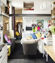 ikea small space living tiny ikea inspired apartment in paris popsugar home