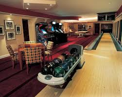 home design game id eclectic game room with interior accent lighting home bowling