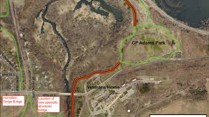 city starts work on new vermillion river trail segment hastings