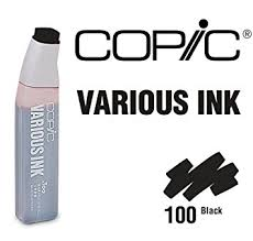 copic markers black friday amazon com copic markers 100 various sketch black