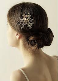 hair beading buy discount in stock exquisite alloy wedding hair jewelry with