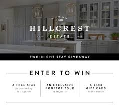 chip and joanna gaines contact hillcrest estate giveaway magnolia chip u0026 joanna gaines
