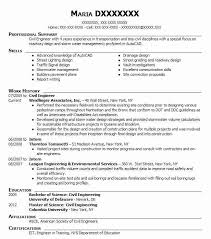 How To Write A Resume For Part Time Job by Best Civil Engineer Resume Example Livecareer