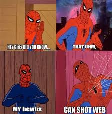 Best Spiderman Memes - 20 hilarious 60s spiderman memes smosh funny shit pinterest