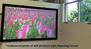 ambient light rejecting screen ambient light rejecting screens sound communications