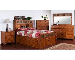Storage Bed Sets King Storage Bedroom Set Sedona By Designs Su 2322ro S Set