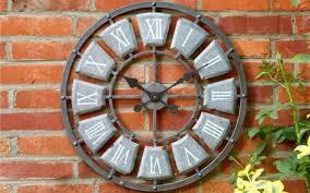 smart garden lincoln wall clock the best outdoor clocks interiors