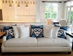 contemporary pillows for sofa fascinating blue couch pillows navy fantastic accent and pillow