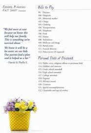 funeral planning checklist http www phillipsfuneral org funeral checklist funeral