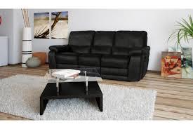 canap relax 3 places cuir canapé relax électrique en cuir 3 places select design sur sofactory
