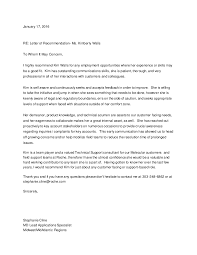 letter of recommendation ms kimberly walls