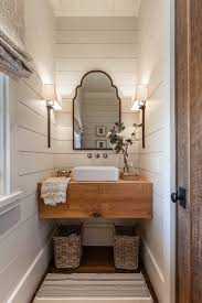 point farmhouse powder room other by wright design