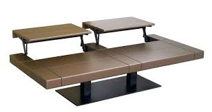 coffee table to dining table adjustable convertible coffee table transforming coffee table convertible