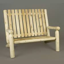 Cedar Adirondack Chairs Spacious Double Adirondack Chairs Dfohome