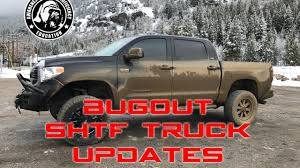 survival truck bugout survival prepper vehicle updates youtube