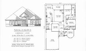 3 feet plan one story house plans 2200 square feet beautiful southern style